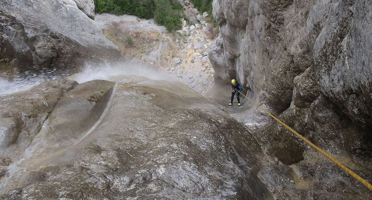 canyoning, espagne, aragon, outdoor