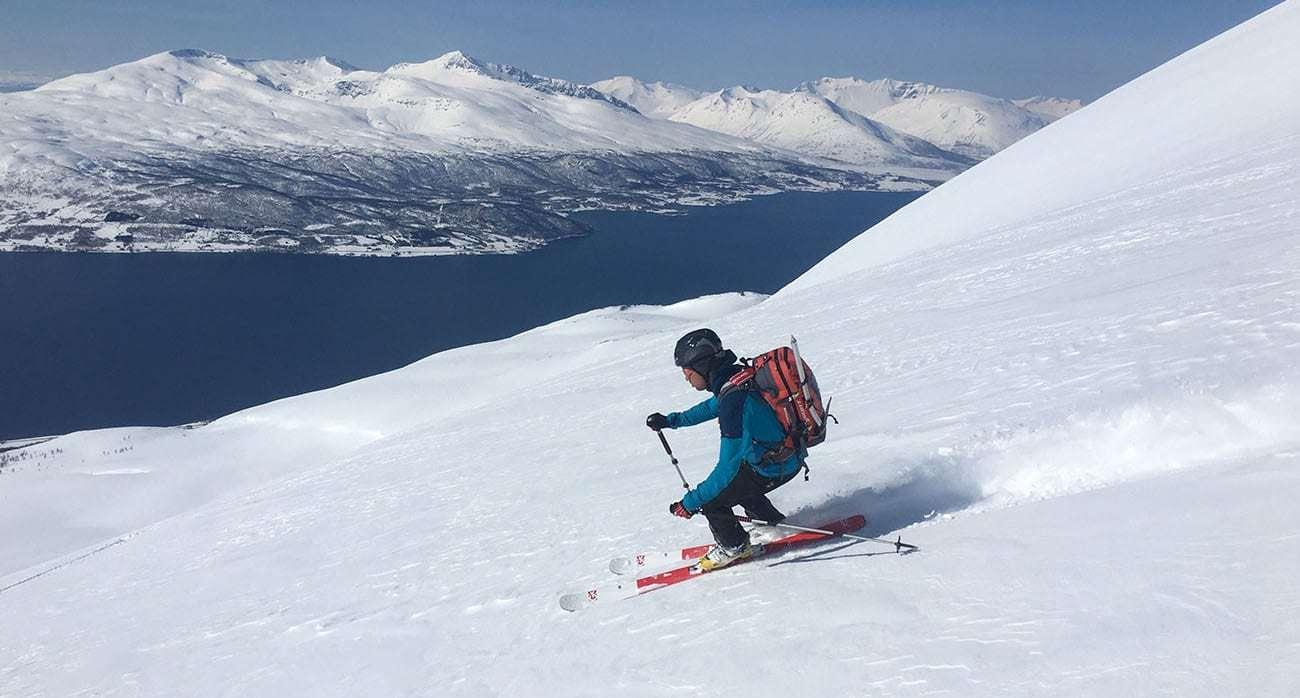 Ski de randonnée et camping-car dans les Alpes de Lyngen (Norvège 🇳🇴)