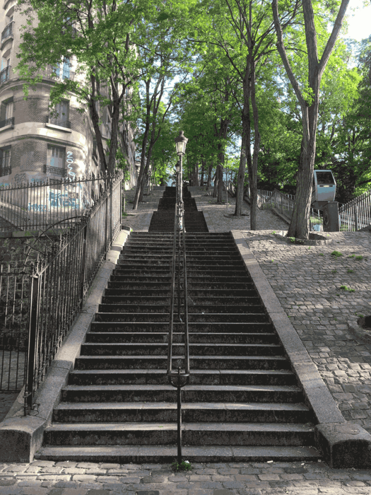 running, montmartre, trail, paris, tranquille