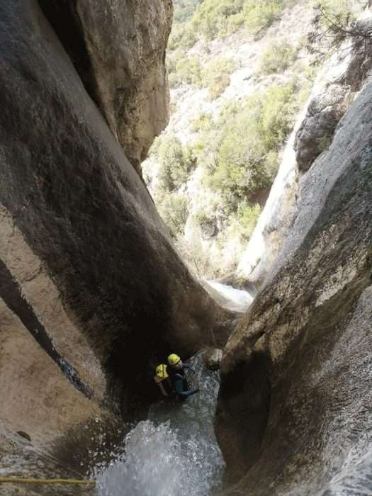 canyoning, espagne, aragon, outdoor, canyon