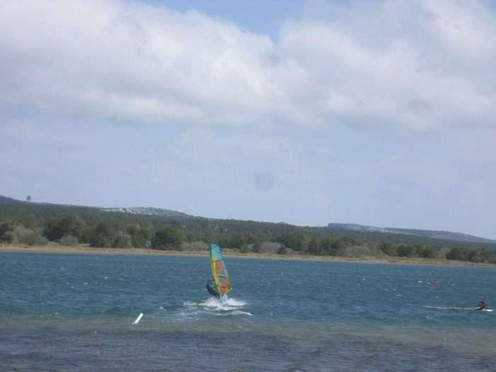 windsurf, kite, planche à voile, aude, étangs, vent, occitanie
