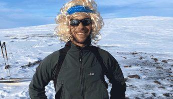 Björn Borg avec la neige en islande