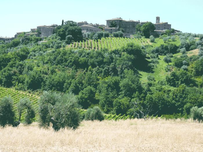 village en toscane