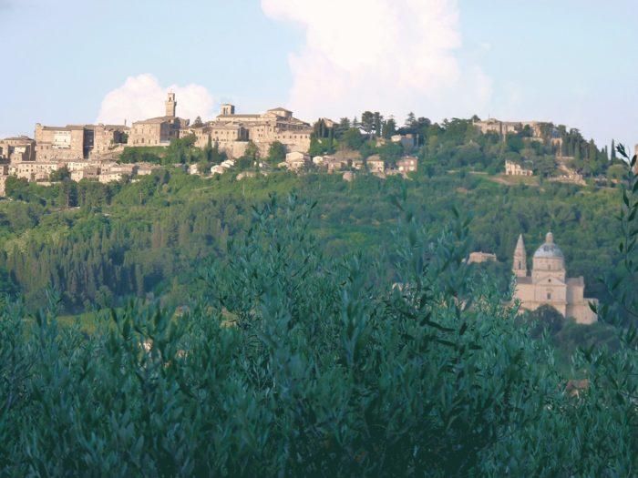Montelpulciano en Toscane