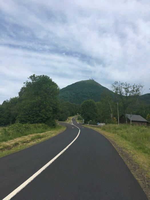 en route pour la Montée du Puy de Dôme