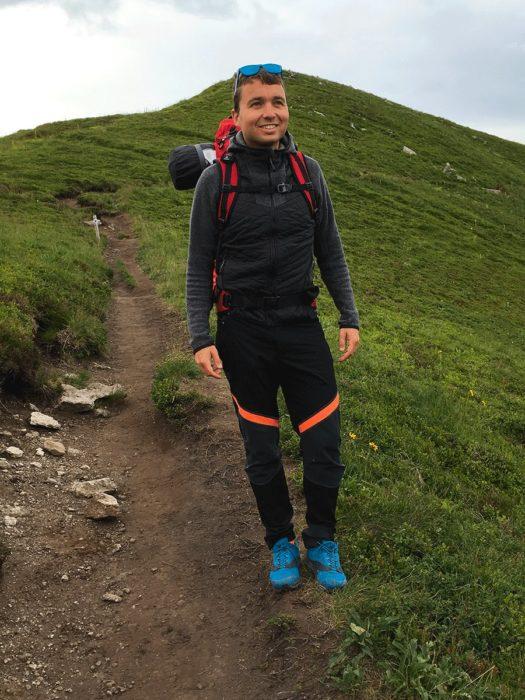 Vaude lavik au pied en randonnée