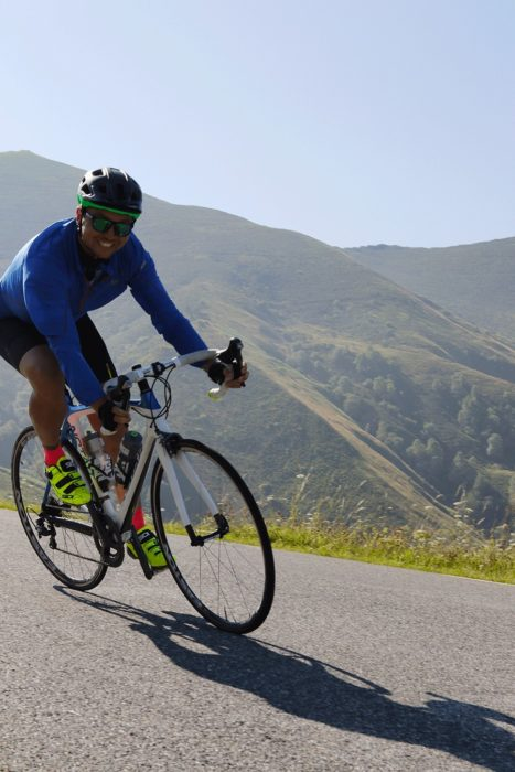 descente en cyclisme d'hautacam Cycl'n Trip