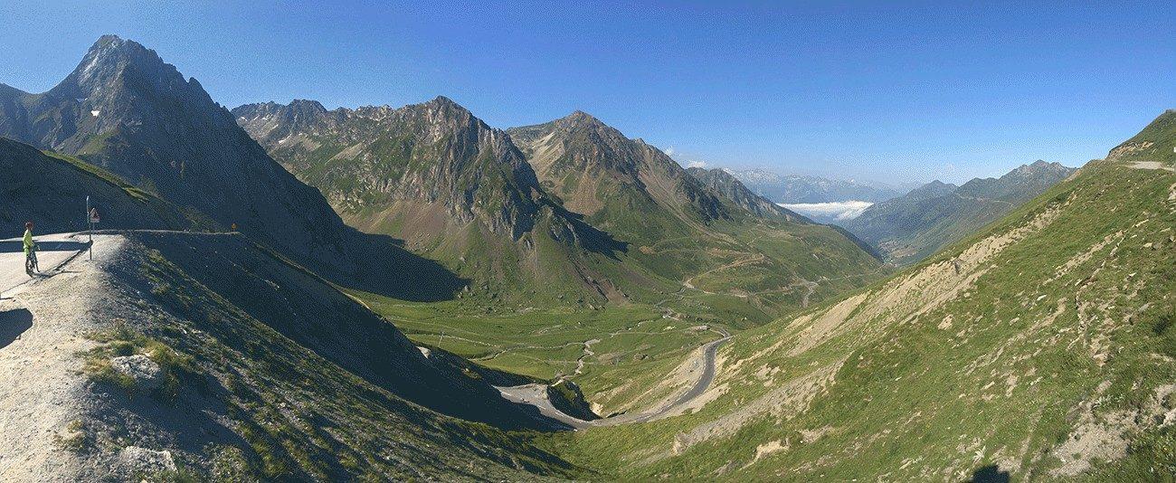 panoramique col du tourmalet Cycl'n Trip