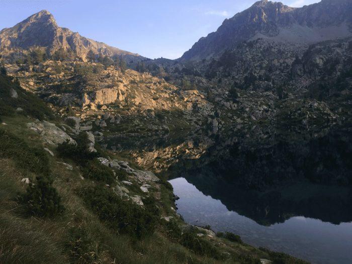 lac pyrénées tour trail lors du GRP