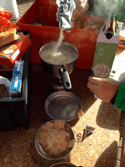 La Mâconnade recette sports outdoor