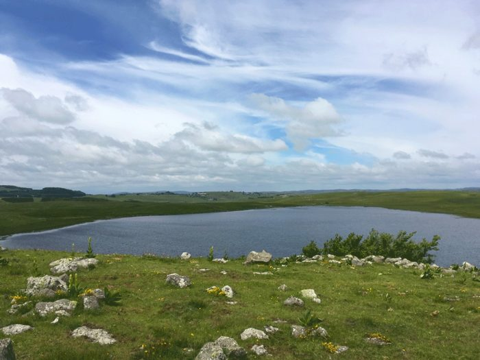 lac en VTT sur l'Aubrac