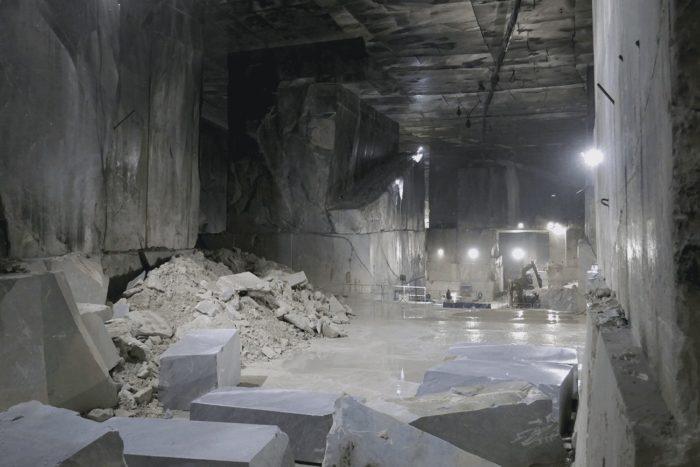 carrière de marbre intérieure
