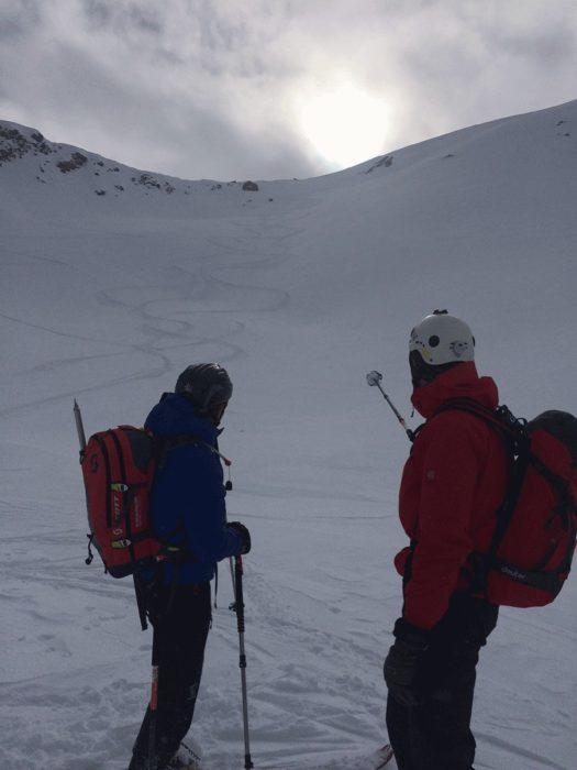 débuter le ski de randonnée avec un pote