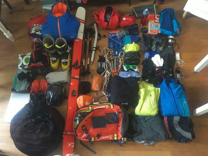 qu'est ce que le ski de randonnée, matériel