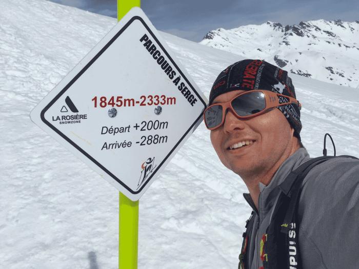 débuter le ski de randonnée sur parcours
