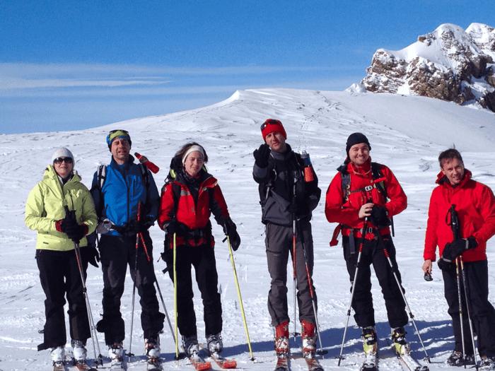 ski de randonnée depuis paris en groupe