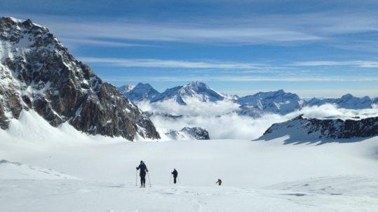 ski de randonnée depuis paris en suisse