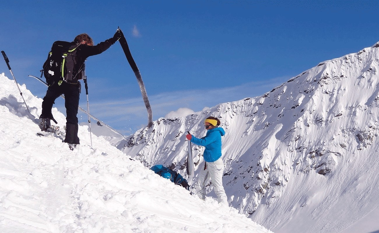 qu'est ce que le ski de randonnée