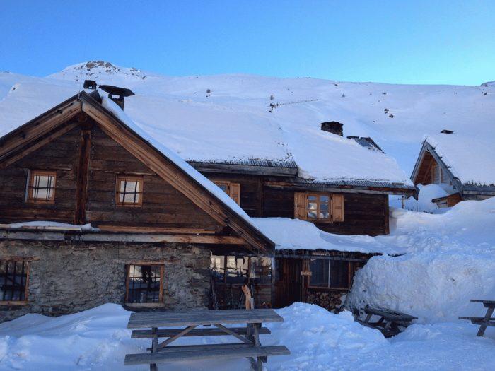 ski de randonnée depuis paris arrivée au refuge