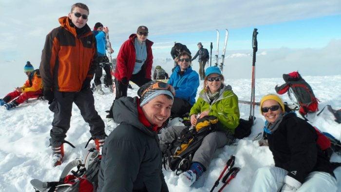 débuter le ski de randonnée en club
