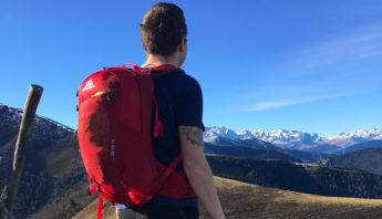 sac grégory en randonnée pyrénées