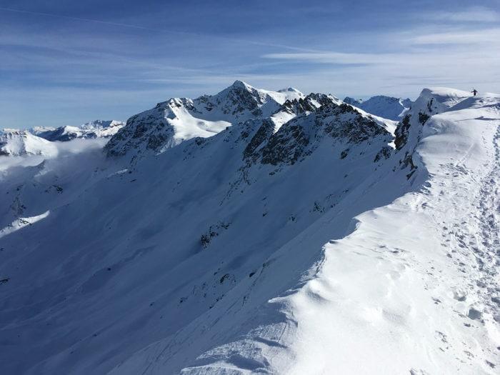 face nord montagne Foglietta