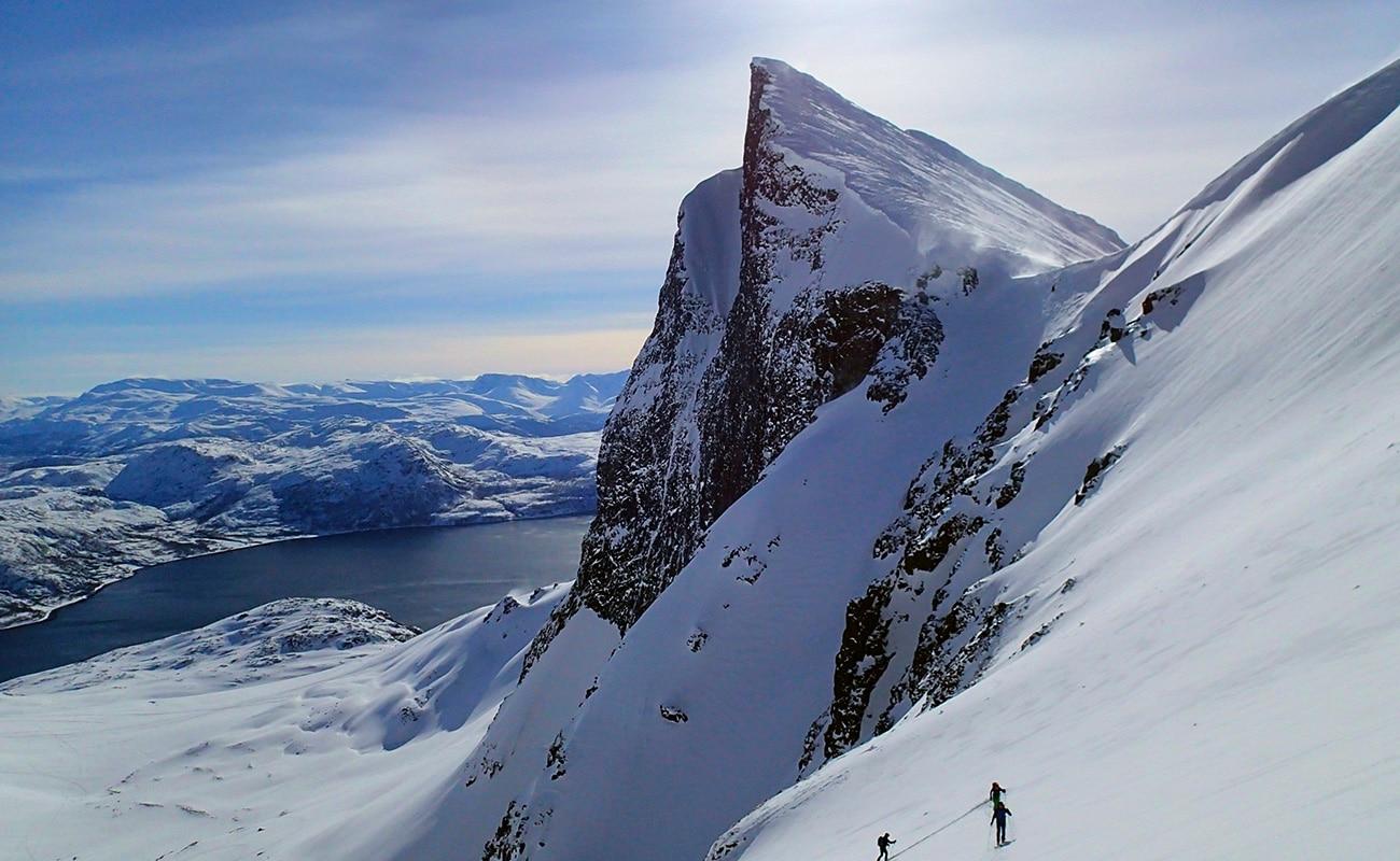 ski de randonnée alpes de lyngen