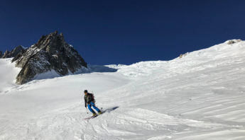 freeride chamonix vallée blanche conseils