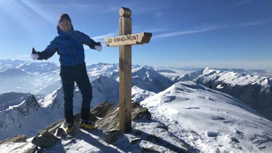 sommet du grand mont