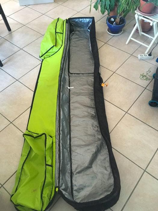 bagages pour ski en avion