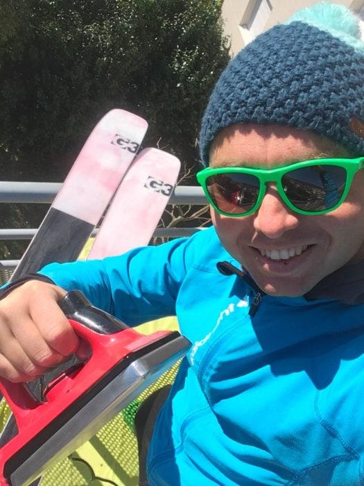 farter ses skis soi même