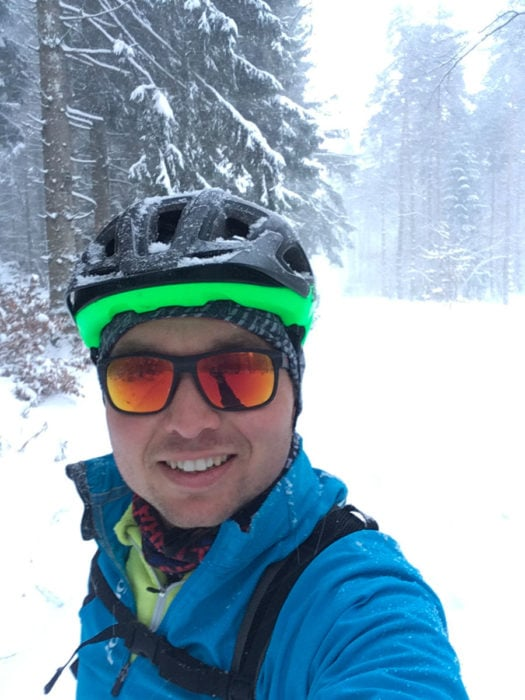 test lunette renegade julbo zebra light sous la neige