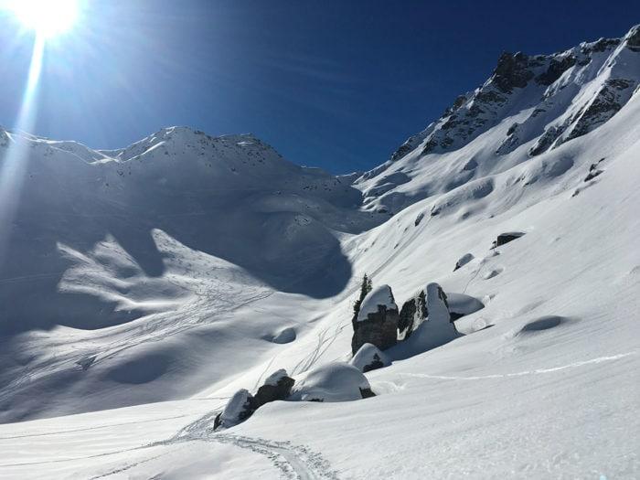 ski de randonnée beaufortain