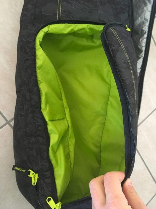 poche pour chaussure bagage ski en avion