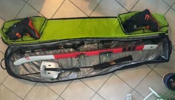 bagage pour ski en avion