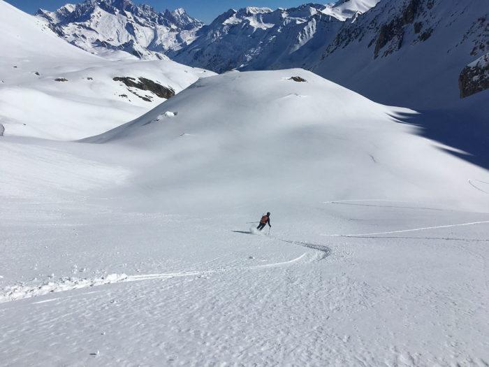 ski au soleil beaufortain