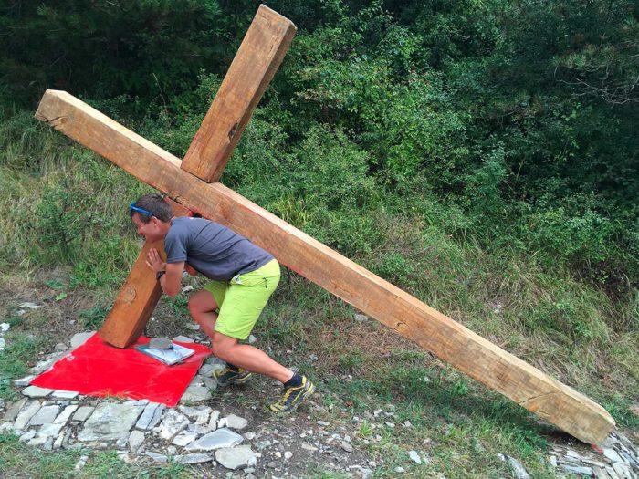 porter sa croix via francigena