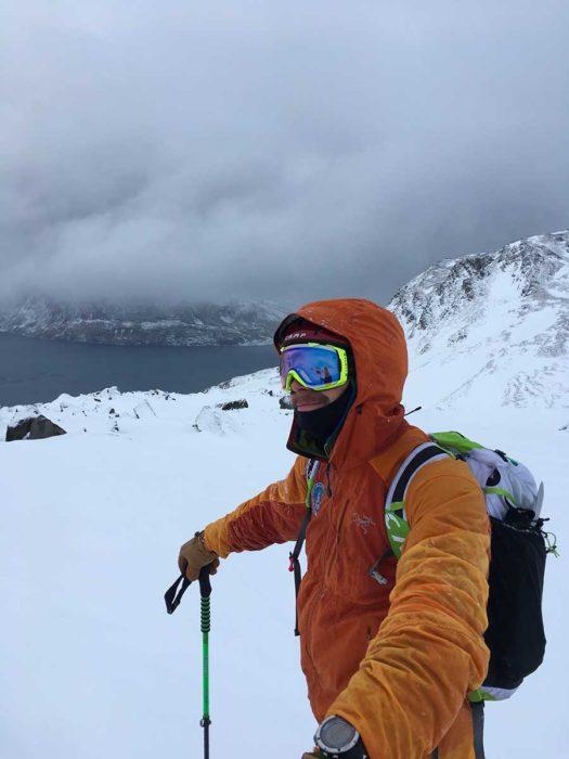 guide de haute montagne alpes de lyngen