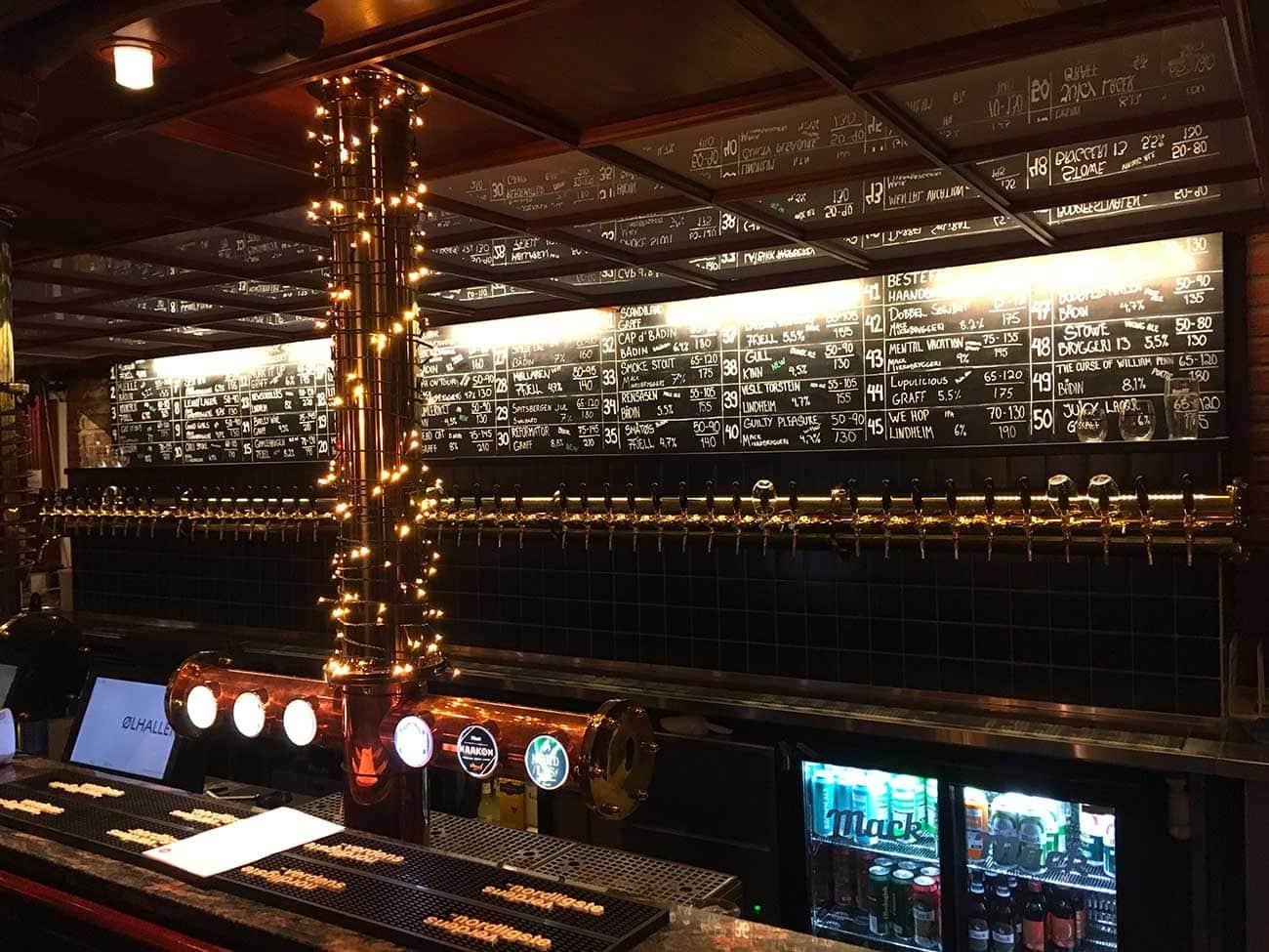 bar à bierres tromso