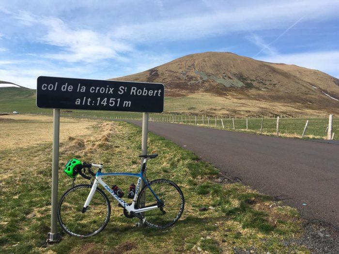col croix saint robert parcours vélo