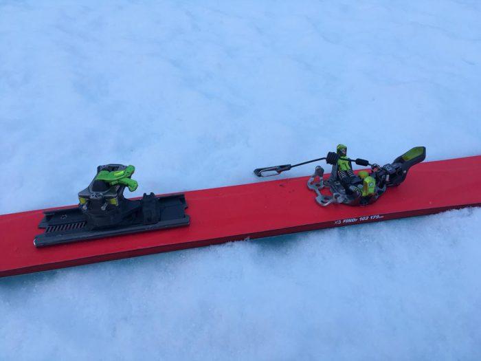 fixation ski de randonnée