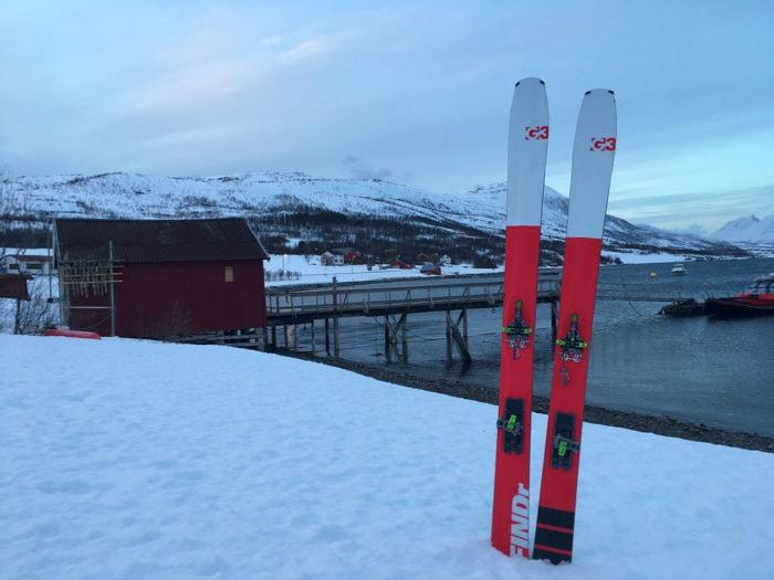 Ski de randonnée G3 et la mer
