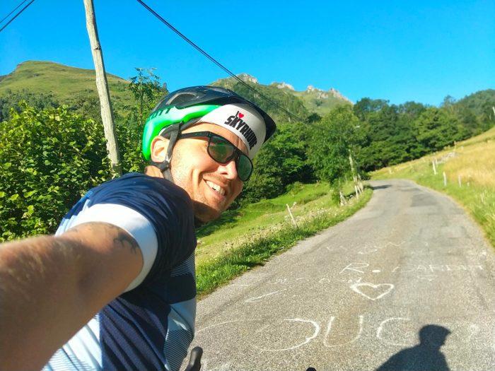 cycliste col des borderes