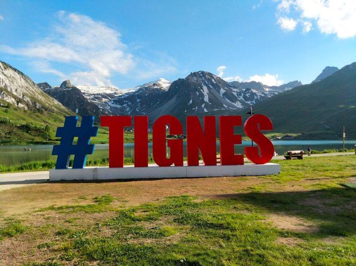 hashtag tignes