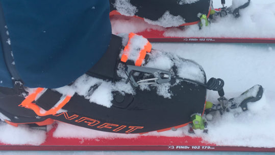 hoji pro tour ski de randonnée test blog