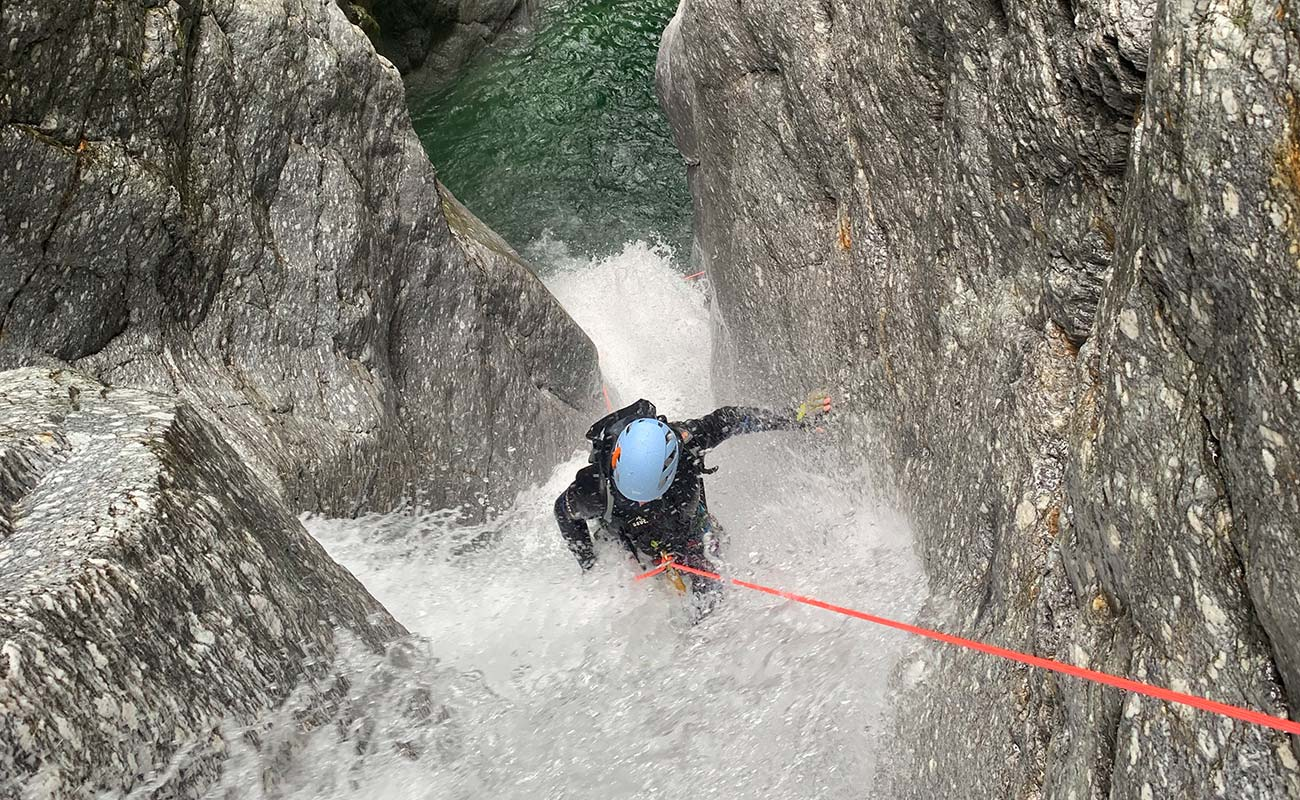 corde canyoning