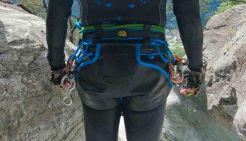 baudrier canyoning kong target