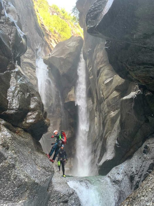 relai canyon tessin suisse