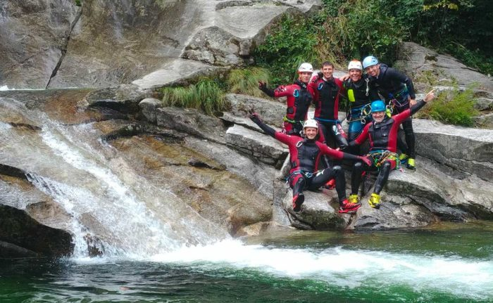 équipe tessin canyoning conseils