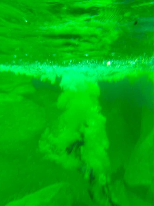 saut sous l'eau tessin canyoning